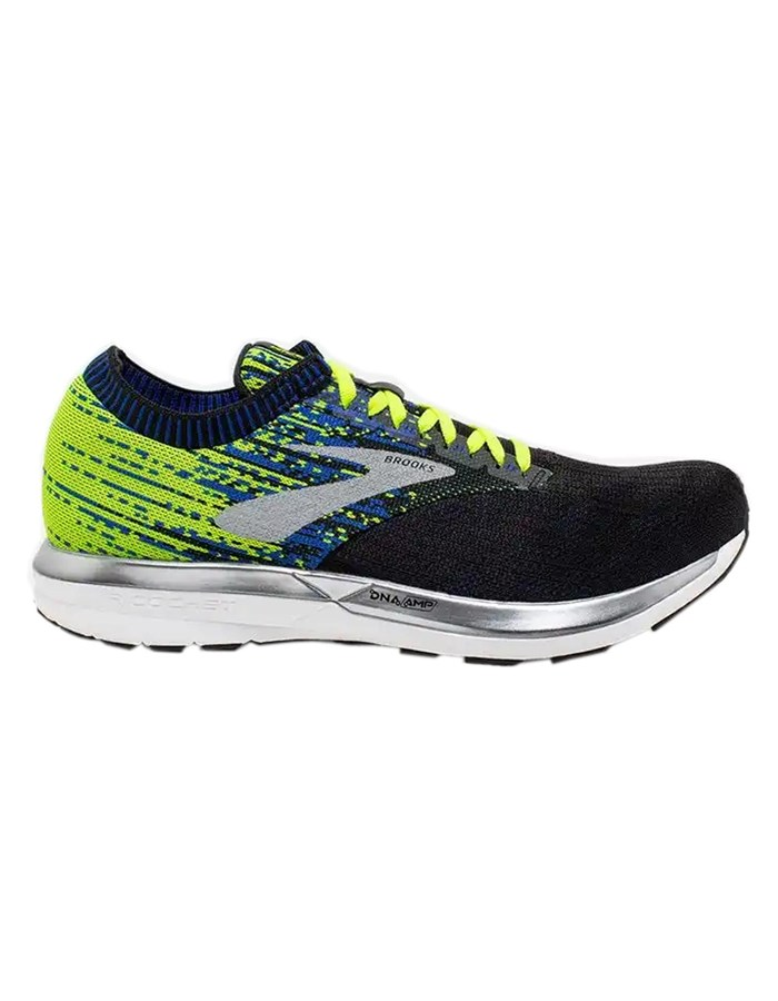 BROOKS Running Shoes 004-black-yellow