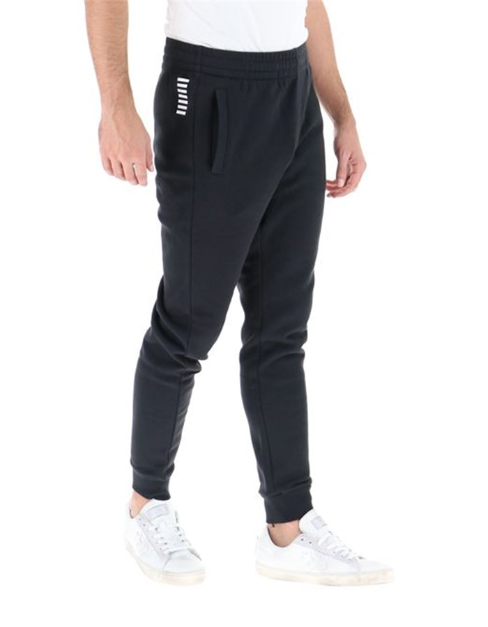 EA7 Emporio Armani Trousers 1200-Black