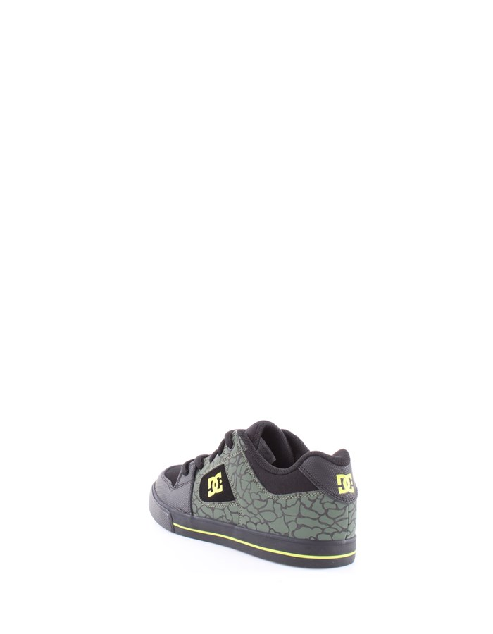 DC Shoes Sneakers Bk9-black-lime