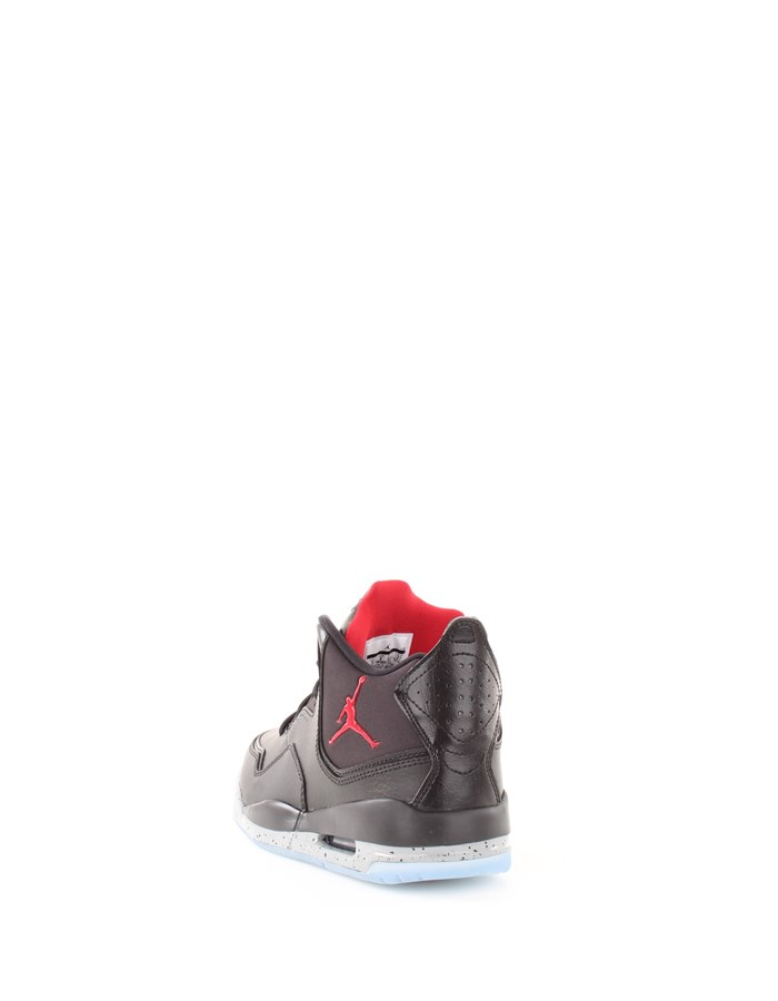 JORDAN Sneakers 023-black-red