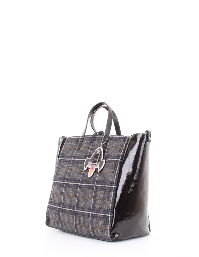 RB di Rocco Barocco Bag Gray-multicolor