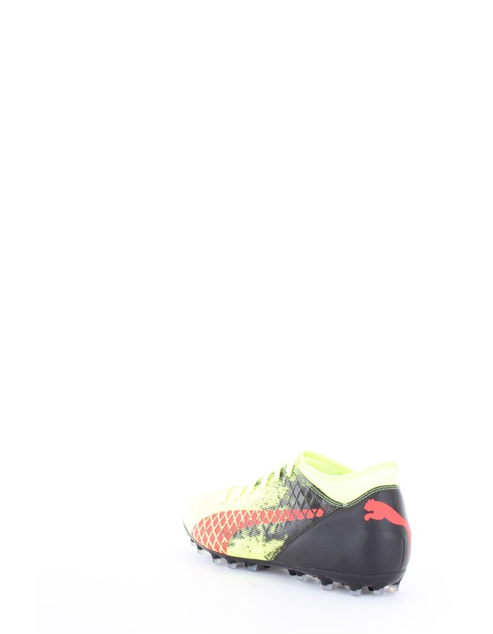 Puma Football boots 01-yellow-red-blast