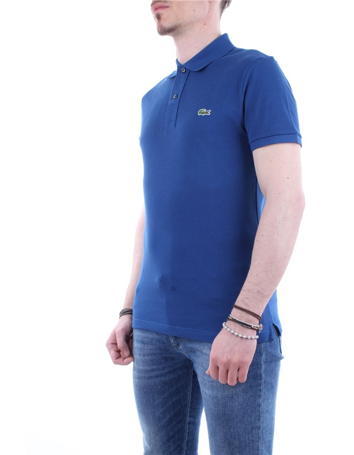 Lacoste Polo shirt Q1y-blue-royal