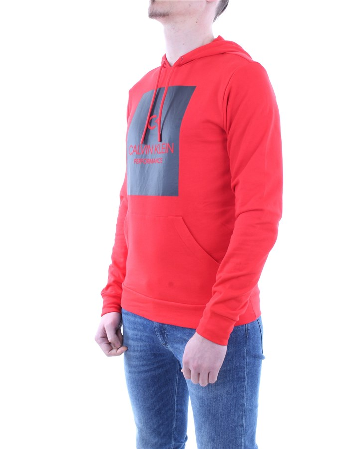 Calvin Klein Performance Sweatshirt Red