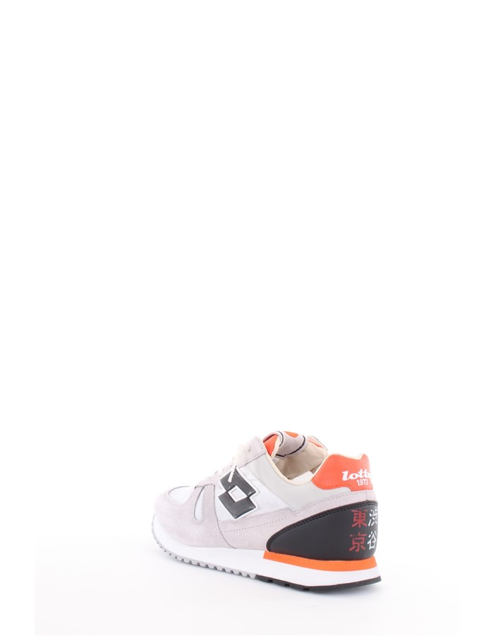 Lotto Leggenda Sneakers Gray-Orange