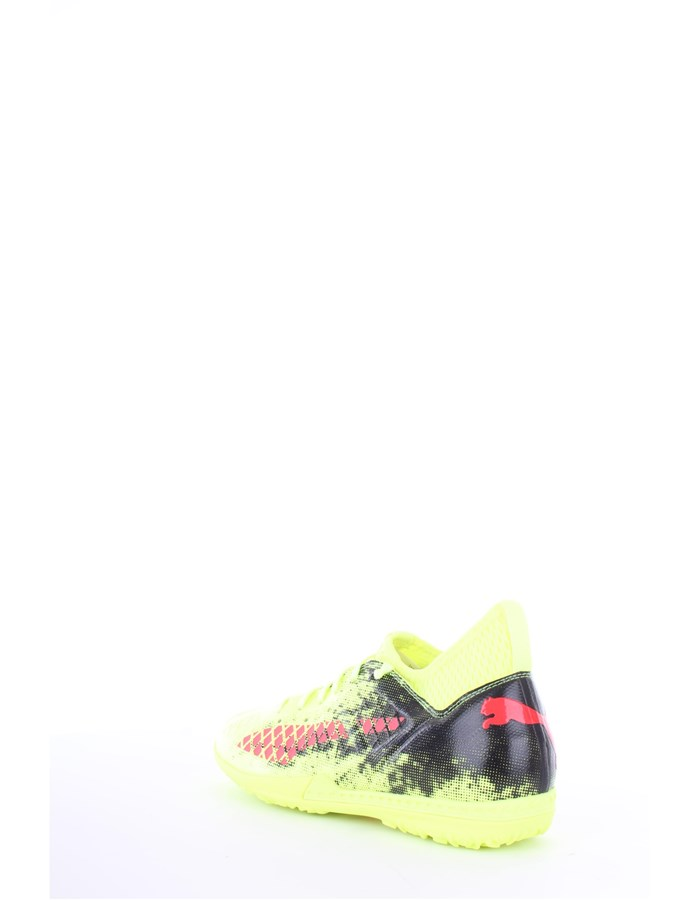Puma Futsal shoes 01-yellow-red-blast