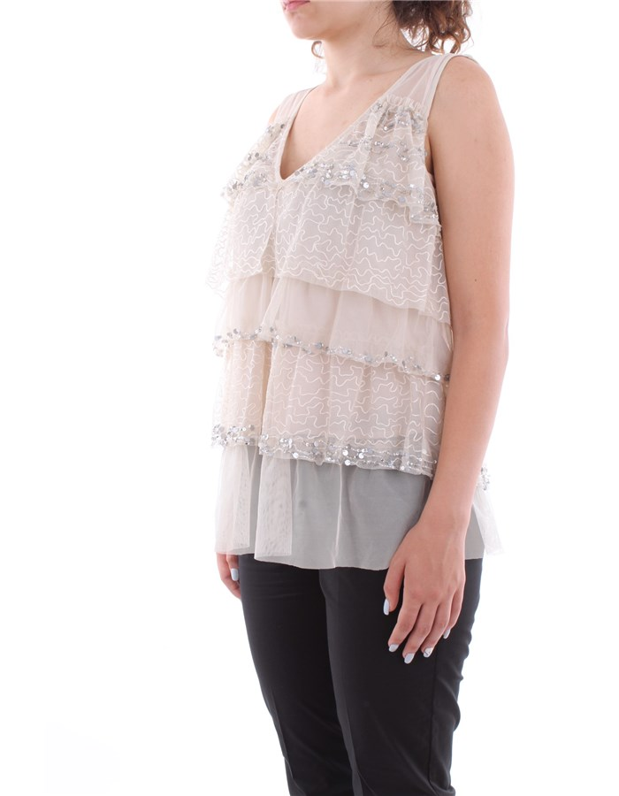 Twin-Set Top 01908-ecru' Light