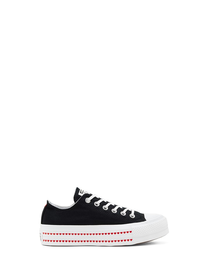 Converse Wedge Sneakers Black