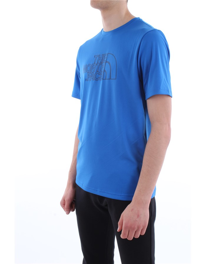 The North Face T-shirt WXN-blue-royal