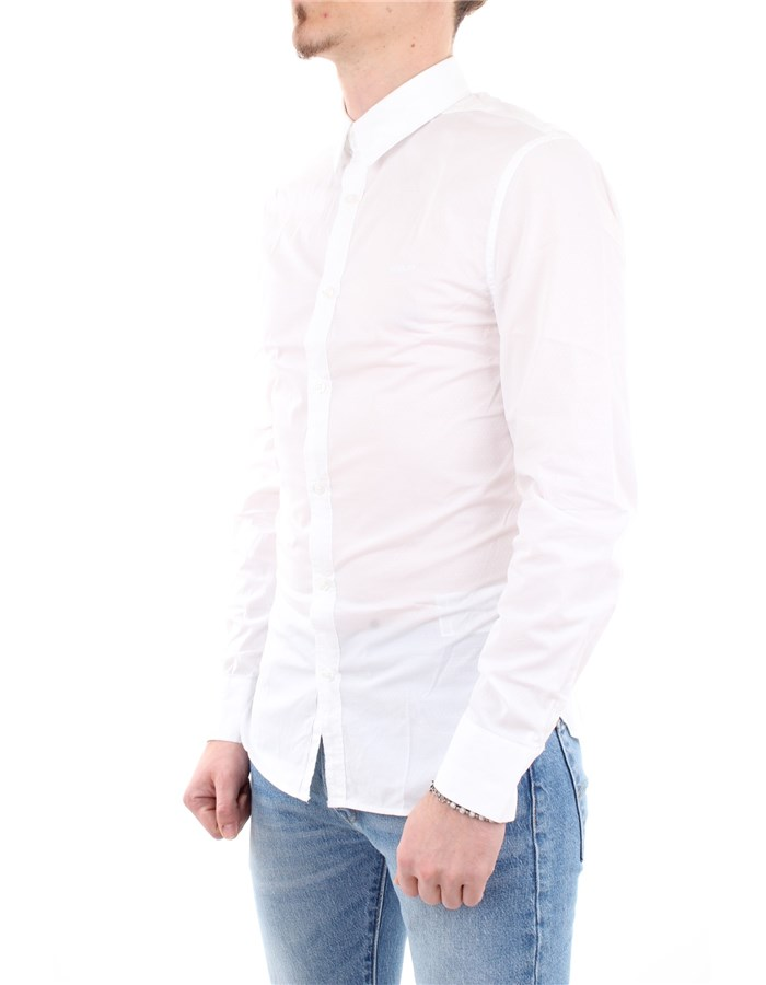 Guess Jeans Shirt Fwa0-White
