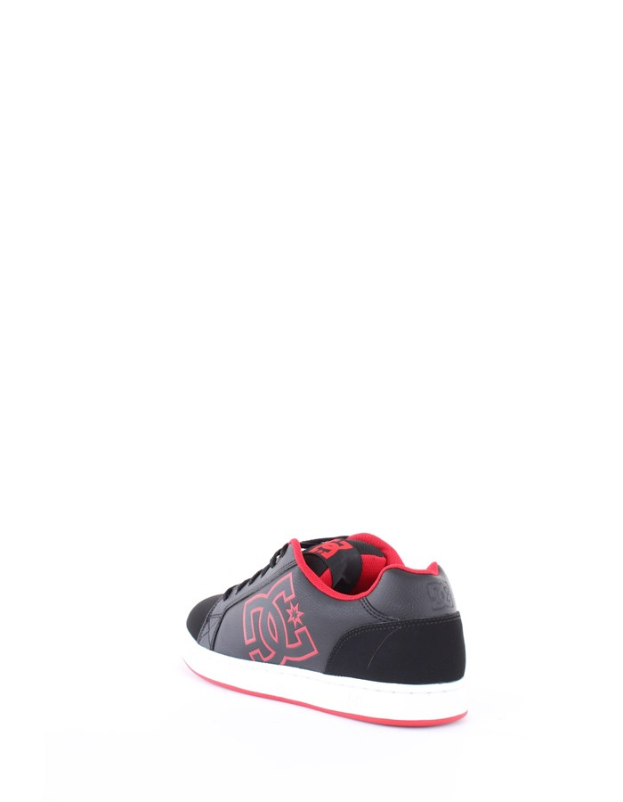 DC Shoes Sneakers Blr-black-red