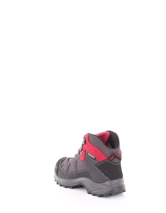 MCKINLEY Trekking shoes 902-043-charcoal gray-pink