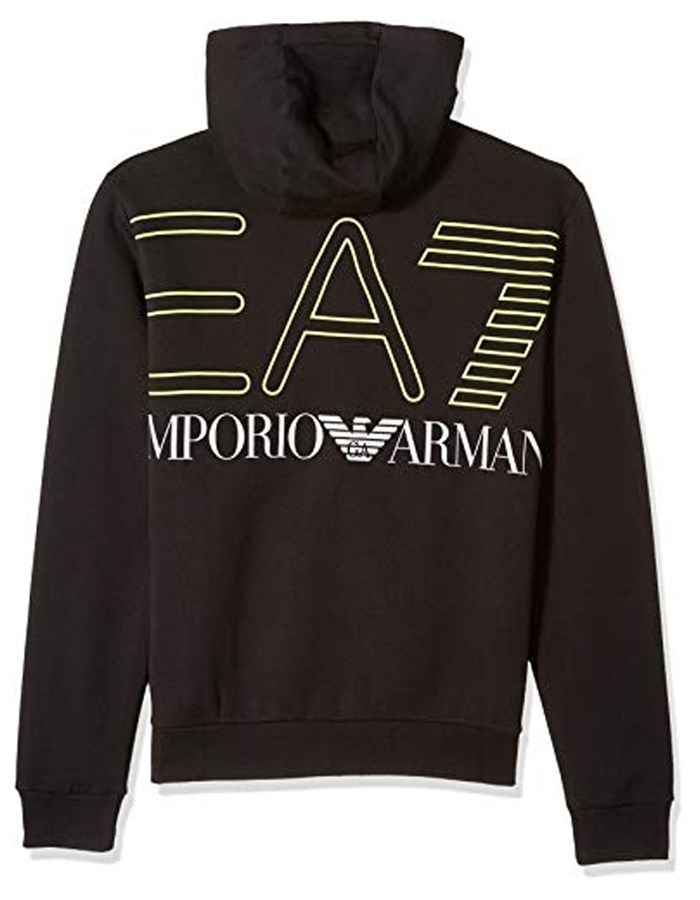 EA7 Emporio Armani Sweat 0205-Black