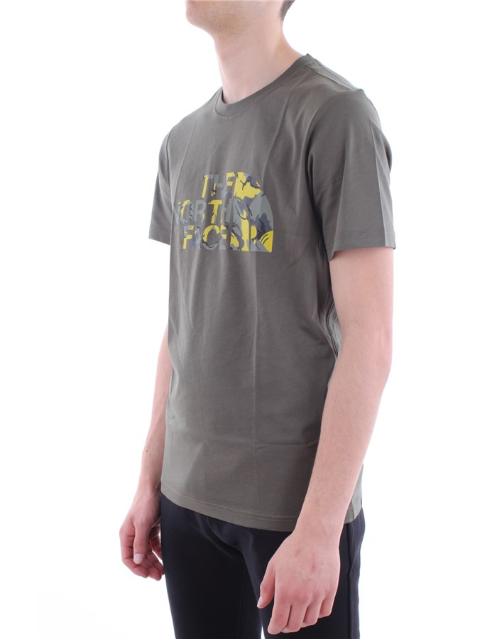 The North Face T-shirt Hcj-olive-green