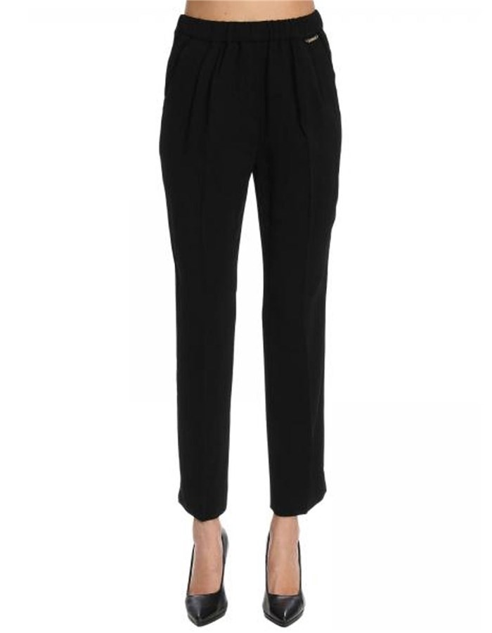 Twin-Set Pantalone 00006-black