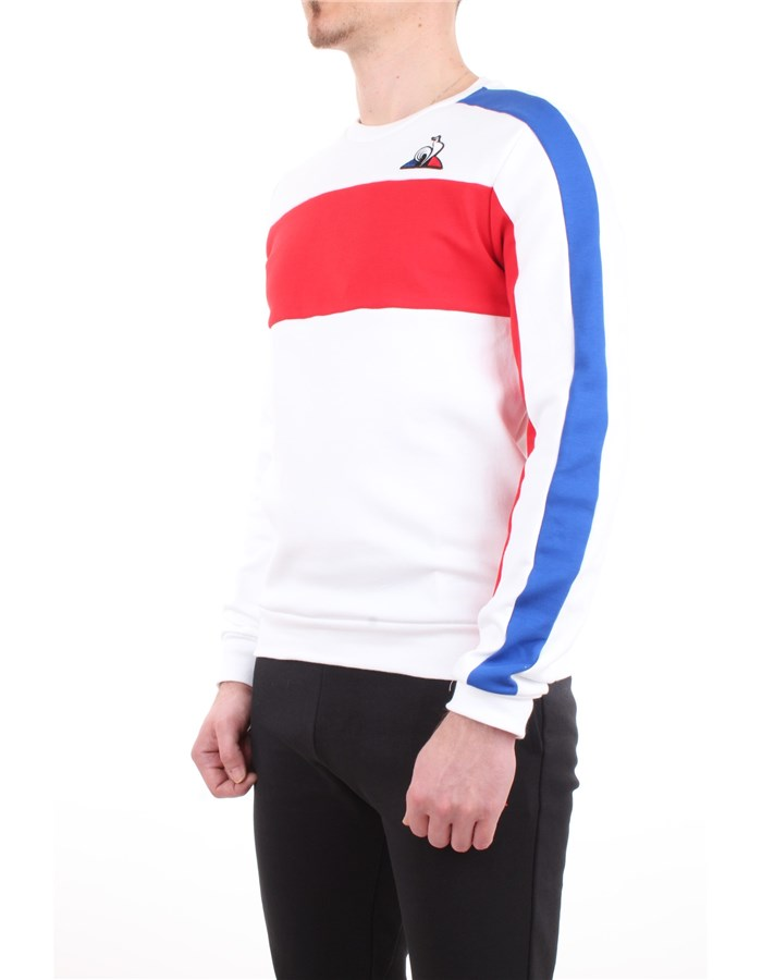 Le Coq Sportif Sweatshirt White-new-optical