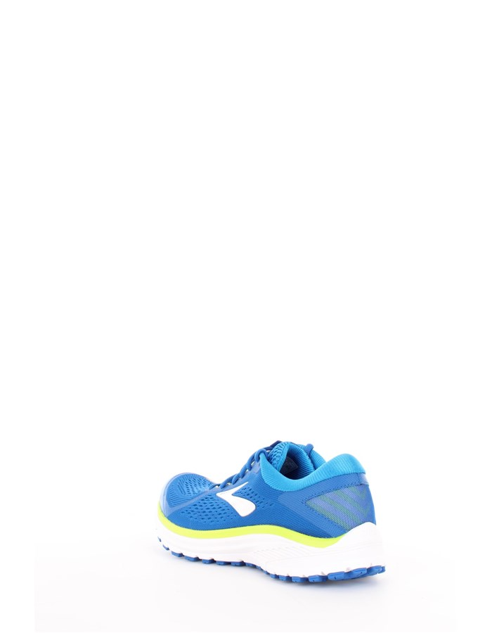 BROOKS Running Shoes 404-blue-lime