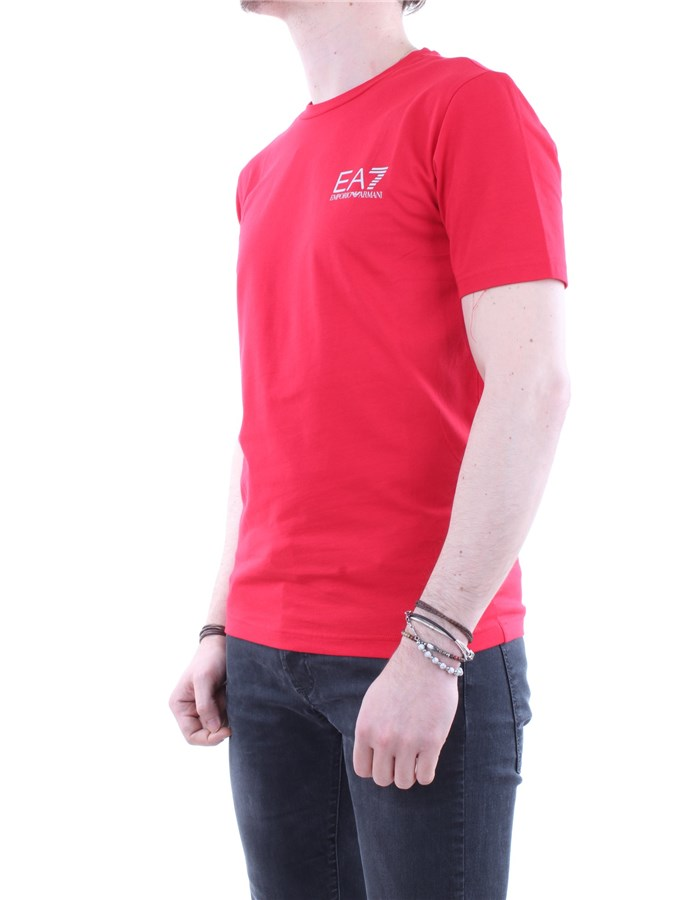 EA7 Emporio Armani T shirt  Red