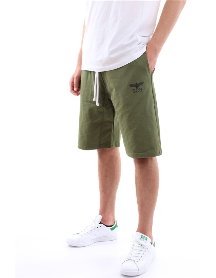 Boy London bermuda Military green