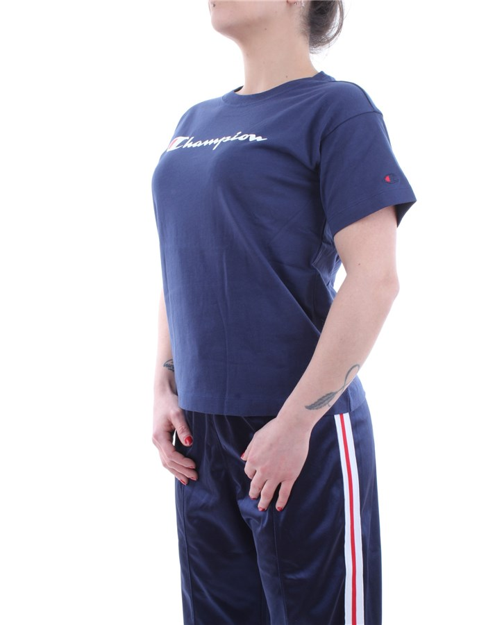 Champion Rochester T-shirt Bs509-blue