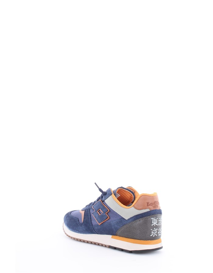 Lotto Leggenda Sneakers Blue-Orange