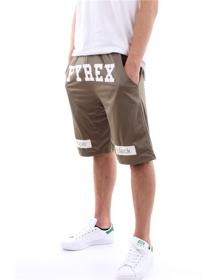 Pyrex Originals bermuda Military green