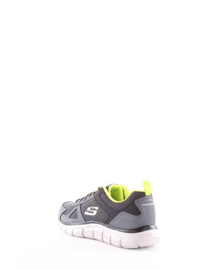 Skechers Running shoes CCLM-gray-yellow-lime