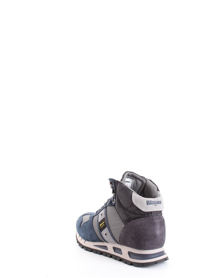 Blauer Shoes Sneakers Grey