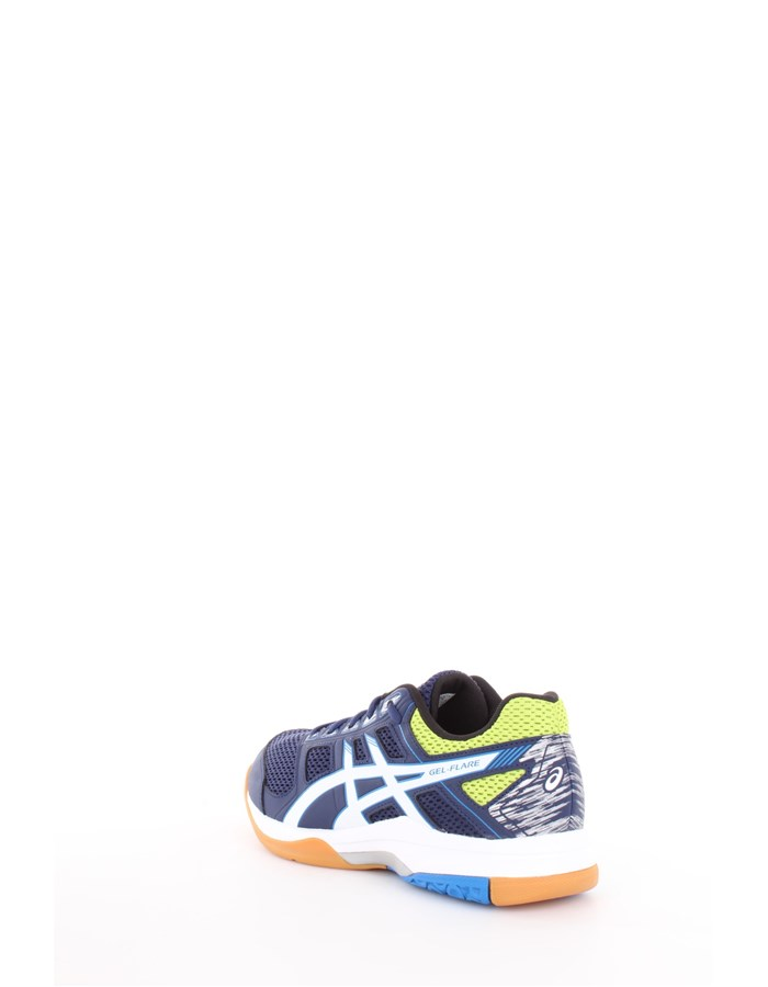 Asics Volleyball shoes 4901-indigo-blue-white-energy