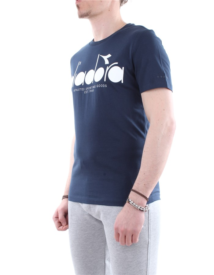 Diadora T-shirt 60065-blue
