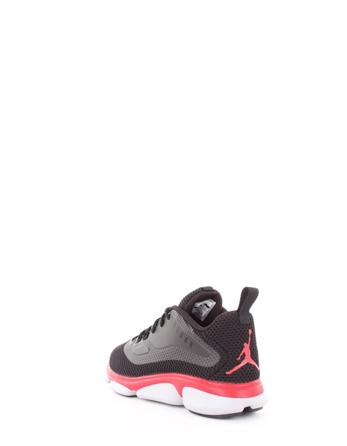 JORDAN Sneakers 027-black-red