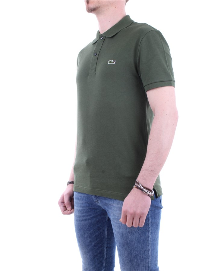 Lacoste Polo shirt G6K-green military