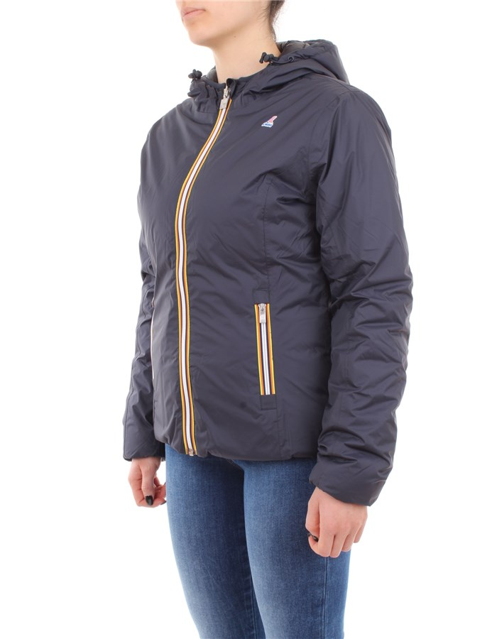 K-WAY Jacket F95-blue-black