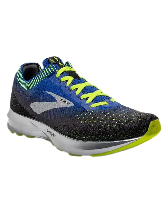 BROOKS Running Shoes 069-blue-Gialllo
