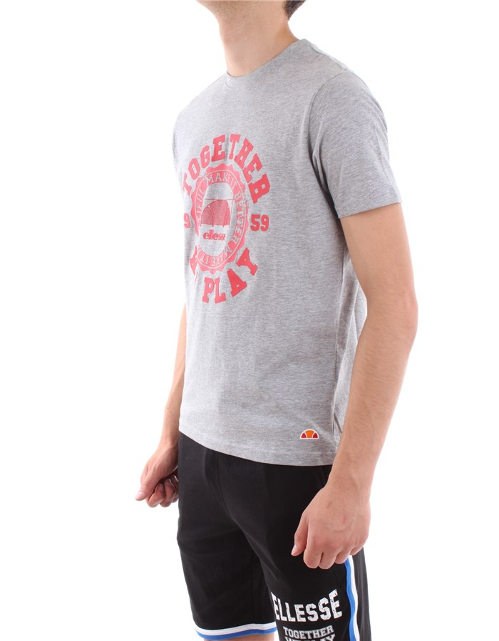 Ellesse T-shirt GM03-gray-melange