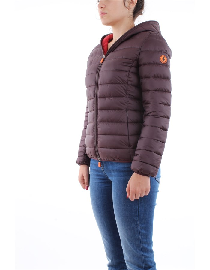 Save the Duck Jacket 01250-burgundy-black