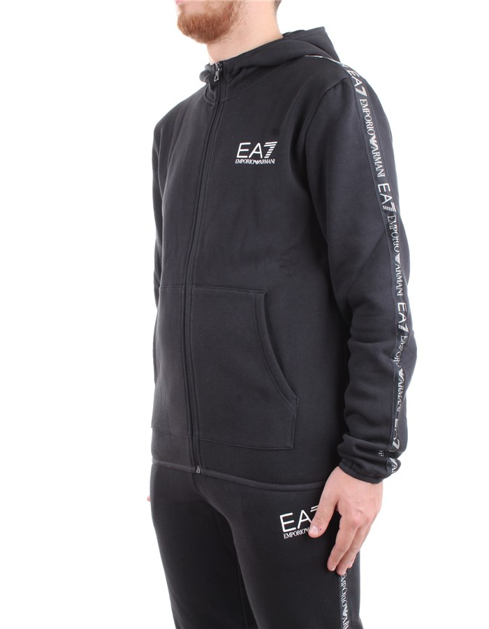 EA7 Emporio Armani Sweat Black