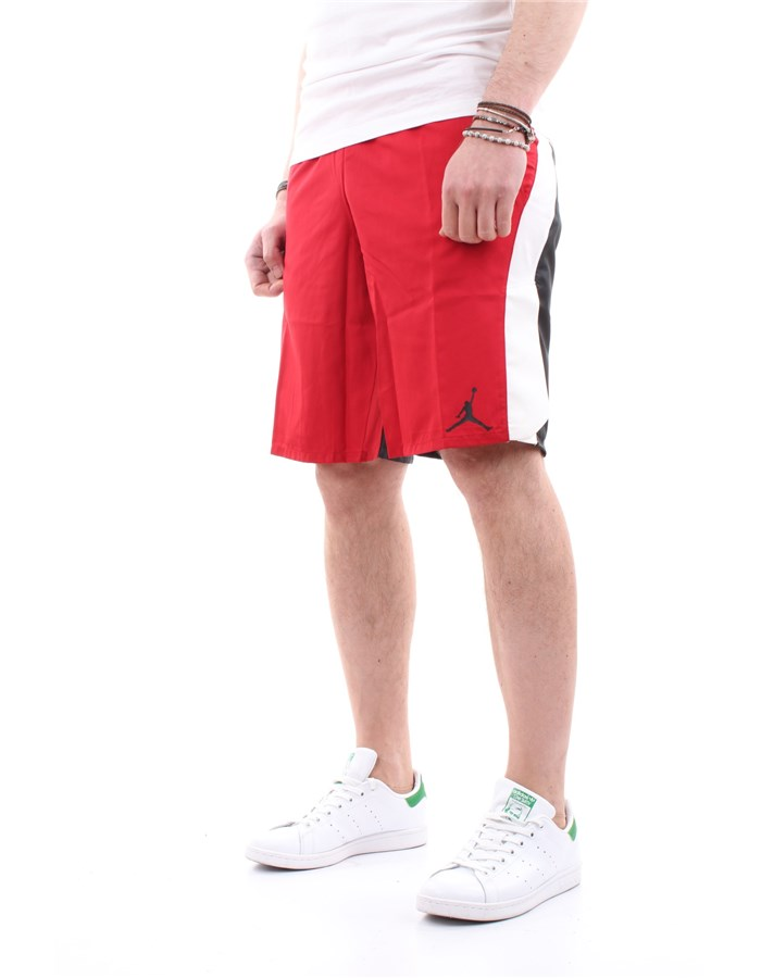 JORDAN Bermuda shorts Red