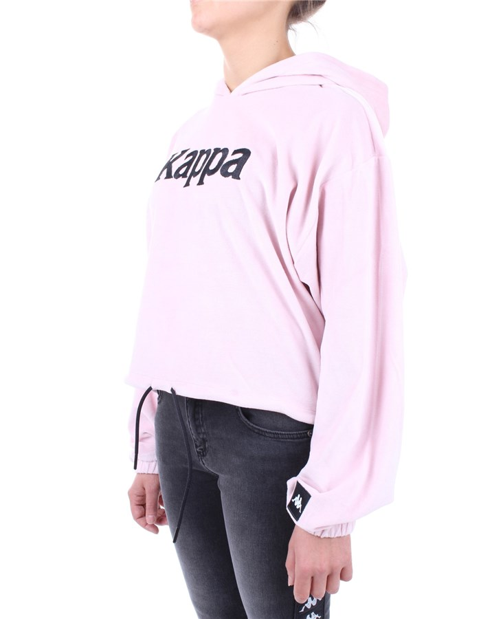 Kappa Hoodies Rose