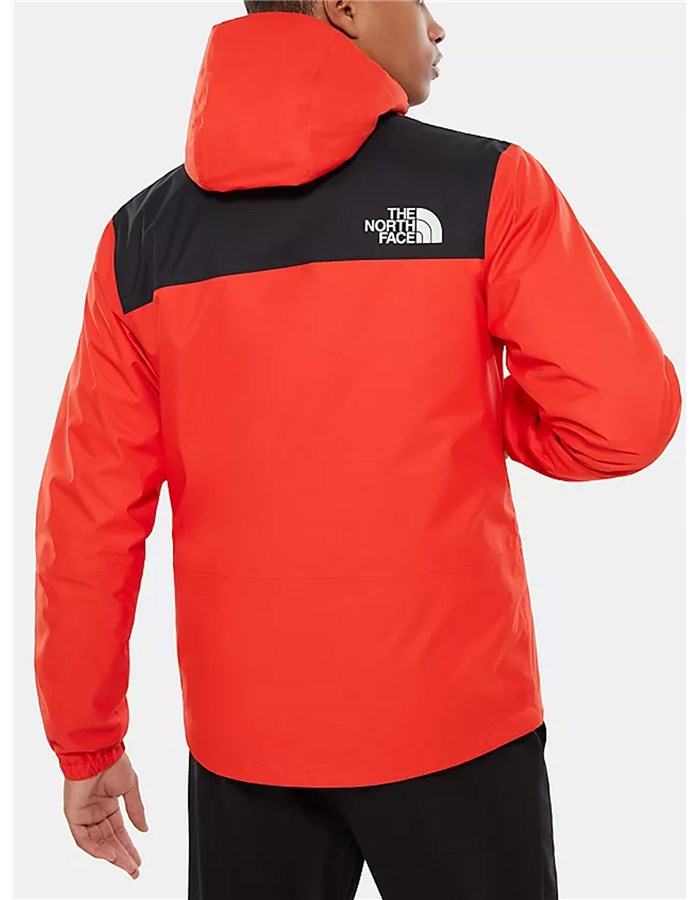 The North Face Windbreakers Red