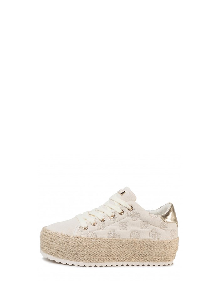 Guess Jeans Wedge Sneakers Gold