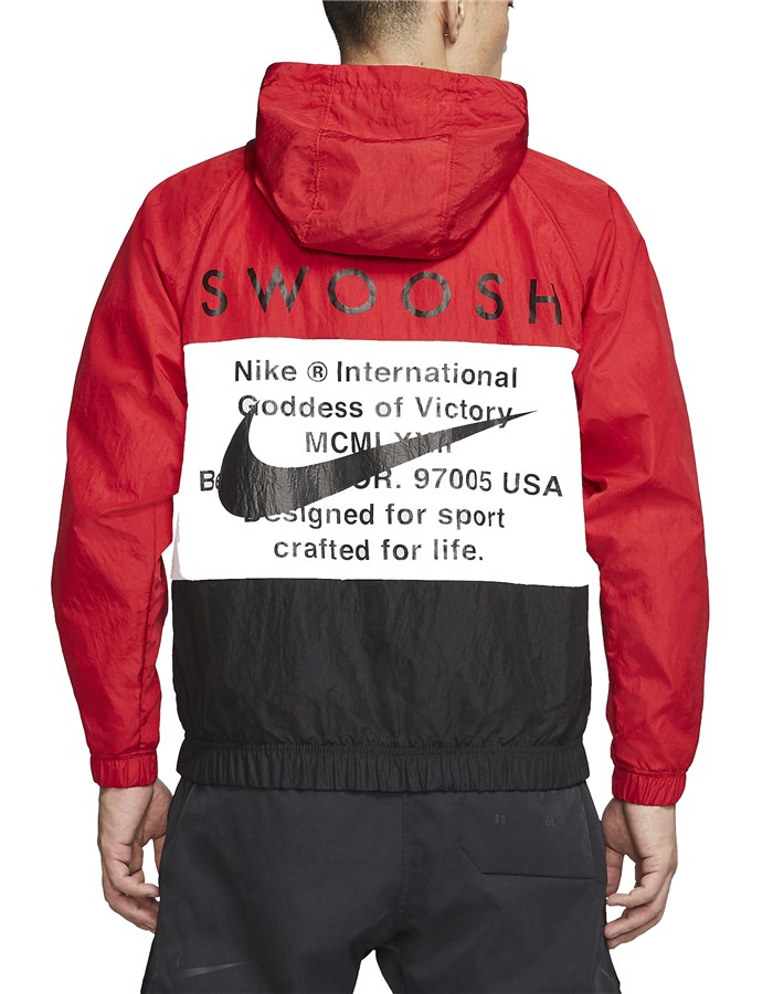 Nike Windbreakers Red