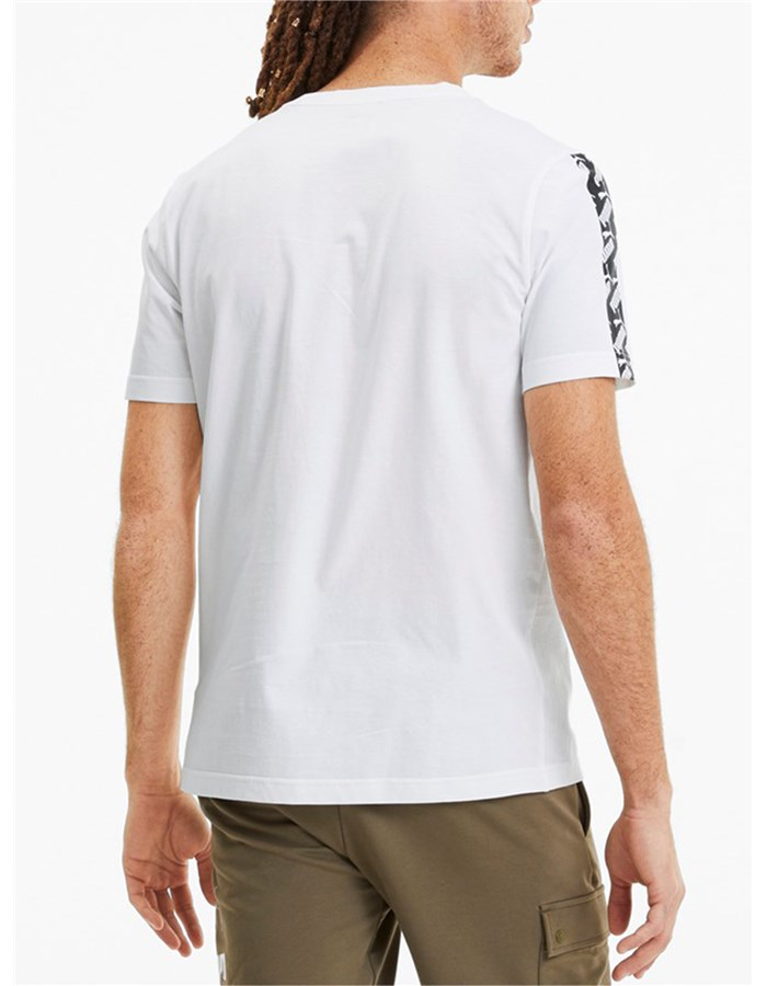 Puma Short Sleeve T-shirt White
