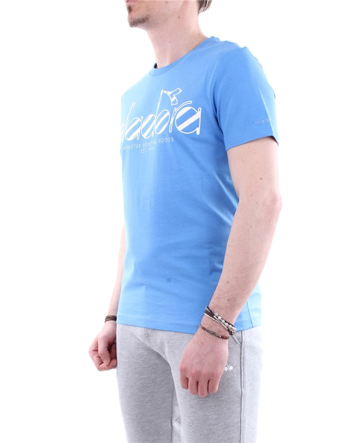 Diadora T-shirt 65044-blue