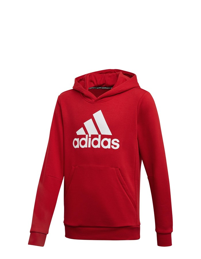 ADIDAS Hooded Red