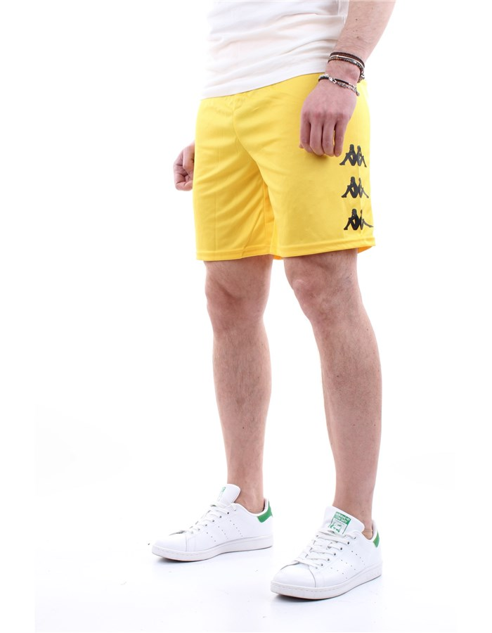 Kappa Bermuda shorts Yellow