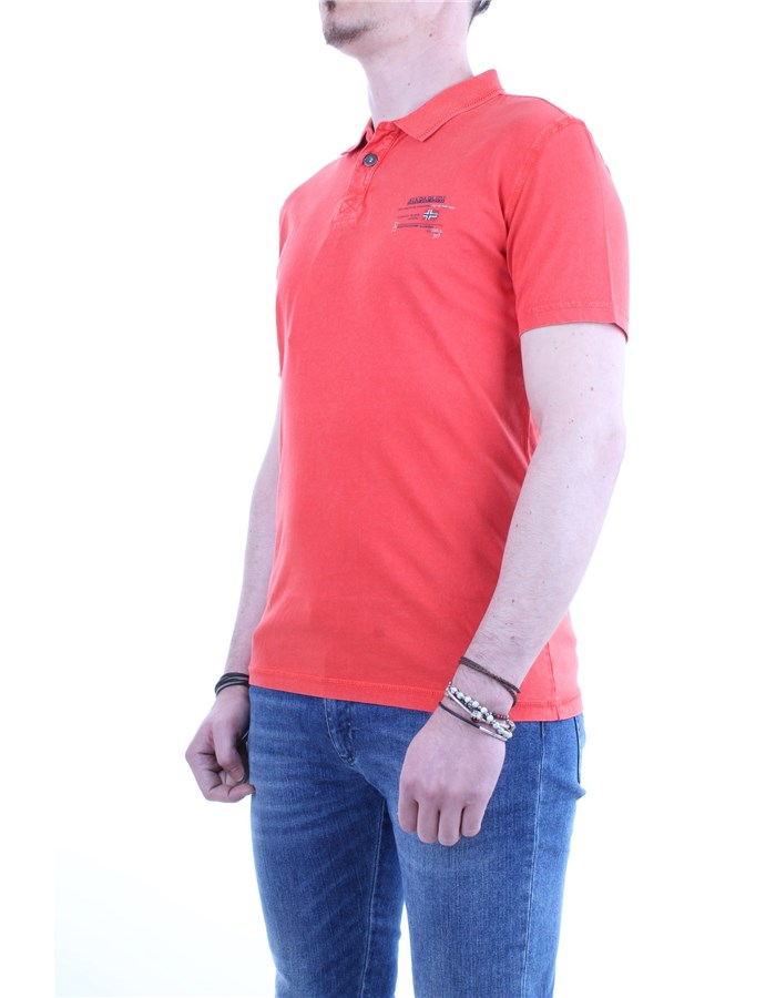 Napapijri Polo shirt R89-red