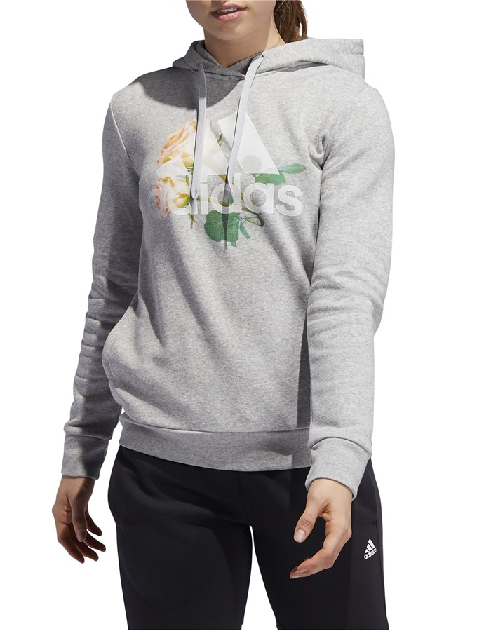 ADIDAS Hooded Grey