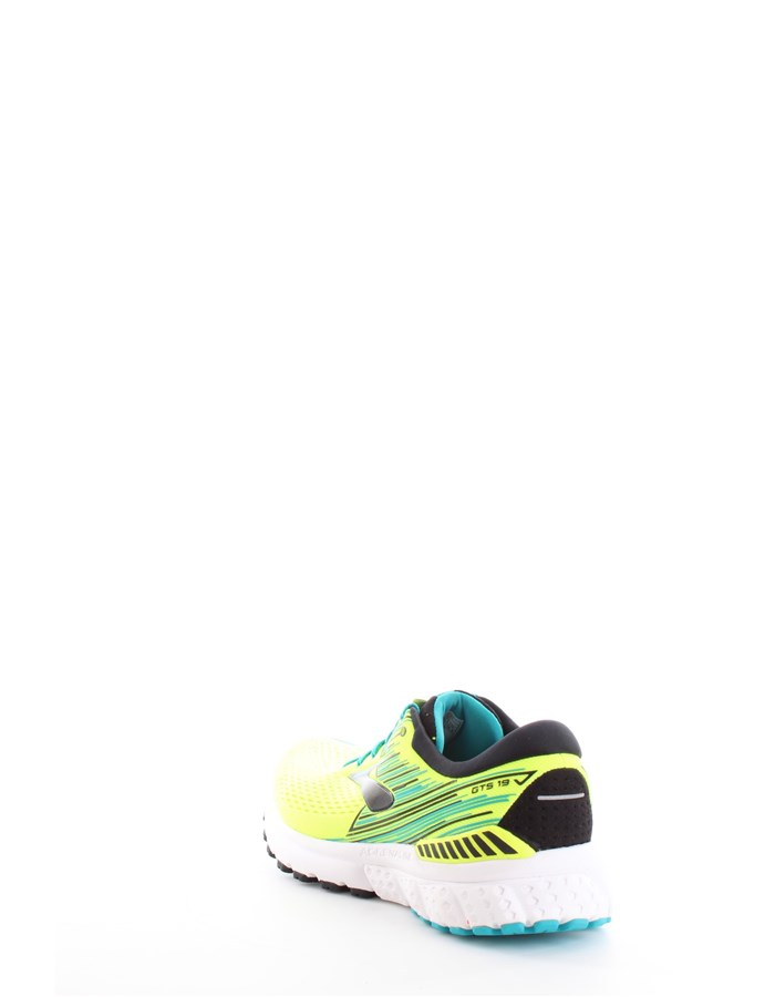 BROOKS Running Shoes Yellow
