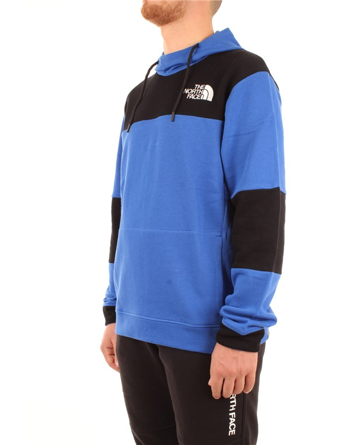 The North Face Sweatshirt Blue